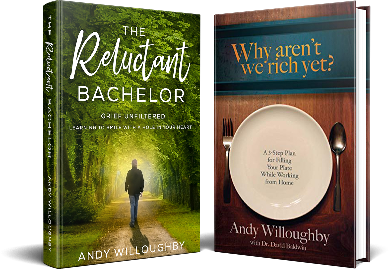 Image of Andy's books